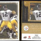 TERRY BRADSHAW (2) 2008 UD Masterpieces #82.  STEELERS