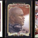 LAWRENCE TAYLOR (3) Card Lot (2012 + 2013).  GIANTS / TAR HEELS