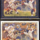 ELI MANNING 2008 UD Masterpieces (Black) #'d Insert 126/150 + sister card.  GIANTS