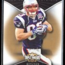 WES WELKER 2009 Topps Triple Threads #'d Insert 062/249.  PATRIOTS