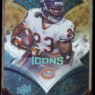 DEVIN HESTER 2008 UD Icons #'d Insert 013/150.  BEARS