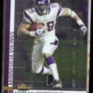 ADRIAN PETERSON 2009 Topps Finest #25.  VIKINGS