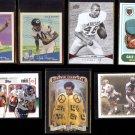 GALE SAYERS (7) Card Retro Lot (1997 - 2012)  BEARS / JAYHAWKS