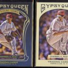 AROLDIS CHAPMAN 2011 Topps Gypsy Queen Future Star Insert + Regular Issue.  REDS