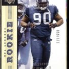 MARCUS TUBBS 2004 UD Legends Rookie #'d Insert 215/650.  SEAHAWKS