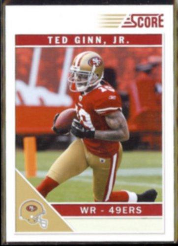TED GINN Jr.  2011 Score #253.  49ers