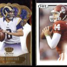 SAM BRADFORD 2013 Panini Crown Royale Gold + 2010 Sage Hit Rookie.  RAMS