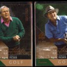 ARNOLD PALMER (2) 2003 UD SP Authentic #'d Inserts 0703/1962 + 1788/1960.