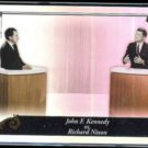 JFK vs. NIXON 2010 Topps Tribute Insert (Greatest Rivalries Revisited) #GR-95.  Thick Stock