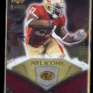 FRANK GORE 2008 UD NFL Icons #'d Insert 397/799.  49ers