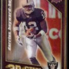DARRIUS HEYWARD-BEY 2009 Upper Deck 3D Stars Insert #3D-47.  MARYLAND / RAIDERS