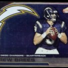 DREW BREES 2002 Pacific Atomic #82.  CHARGERS