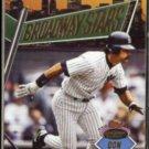 DON MATTINGLY 1993 Stadium Club Broadway Stars w/ Gooden on reverse.  NYY / NYM