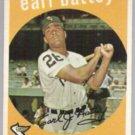 EARL BATTEY 1959 Topps #114  WHITE SOX