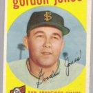 GORDON JONES 1959 Topps #458.  GIANTS