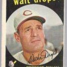 WALT DROPO 1959 Topps #158.  REDLEGS