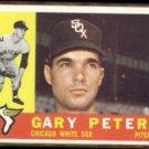 GARY PETERS 1960 Topps #407.  WHITE SOX