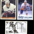 MIKE BOSSY (3) Card Lot (1985, 2011 + 12)  ISLANDERS
