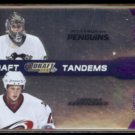 ERIC STAAL / MARC-ANDRE FLEURY 2010 Playoff Contenders #'d Insert 039/100.
