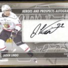 JADEN LINDO 2014 In The Game Heroes + Prospects Autograph.  Class of 2014