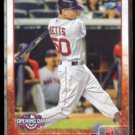 MOOKIE BETTS 2015 Topps Opening Day #118.  RED SOX