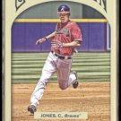 CHIPPER JONES 2011 Topps Gypsy Queen #24.  BRAVES