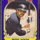 REGGIE JACKSON 1981 Fleer Star Sticker #115.  YANKEES