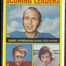 JAN STENERUD 1972 Topps Scoring Ldrs. #1 w/ Yepremain.  CHIEFS