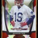 BRANDON TATE 2009 Donruss Certified Rookie #'d Insert 134/250.  PATRIOTS