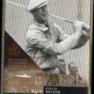 BYRON NELSON 2003 UD SP Authentic #'d Insert 1772/1937.  Salute to Champions