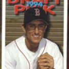 NOMAR GARCIAPARRA 1995 Topps Draft Pick Rookie #587.  RED SOX