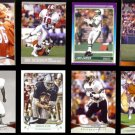 NFL (8) Card HOF / STAR Lot w/ FRIDGE, PAGE, CAMPBELL, KELLY (1989 + 2000's)