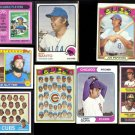 CHICAGO CUBS (7) Card Topps Lot (Early 70's) SANTO, BANKS, PEPITONE, Team ++