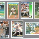 PAUL MOLITOR (7) Card Lot (1988 - 1994).  BREWERS