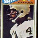 CHUCK MUNCIE 1977 Topps Rookie #467.  SAINTS