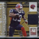 LEE EVANS 2009 Donruss Elite JERSEY #'d Insert 158/299.  BILLS - Thick Stock