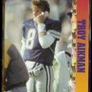 TROY AIKMAN 1993 Ballstreet News Insert N#OB.  COWBOYS