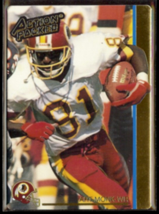 ART MONK 1992 Action Packed #278.  REDSKINS