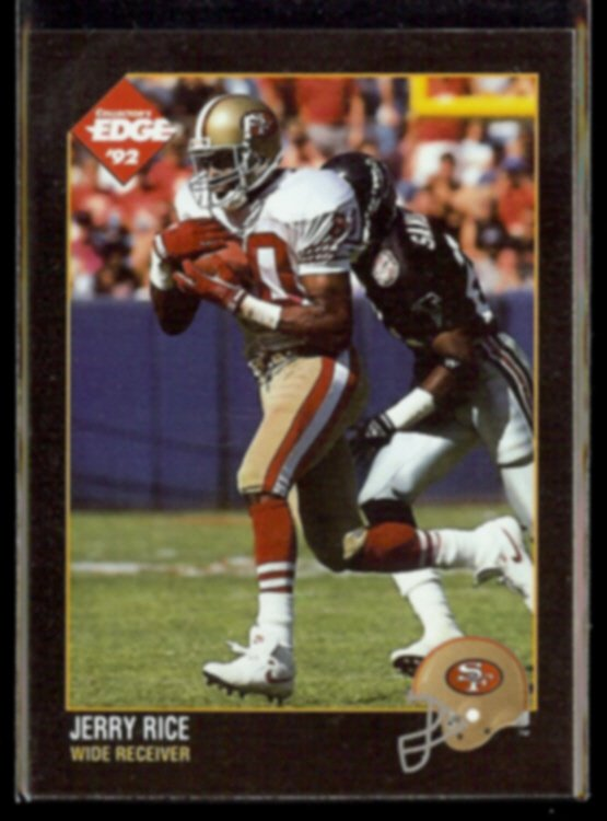 JERRY RICE 1992 Edge #156.  49ers