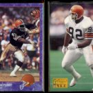 MICHAEL DEAN PERRY 1993 Edge #40 + 1993 Pro Line Live #45.  BROWNS