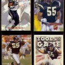 JUNIOR SEAU (4) Card Lot (1992 - 1994)  CHARGERS