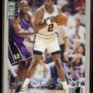 MOSES MALONE 1994 UD CC Silver Signature Insert #281.  SPURS