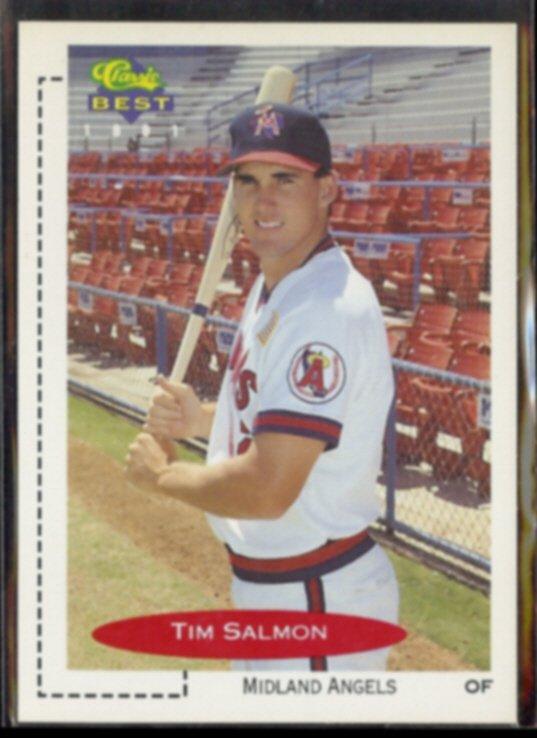 TIM SALMON 1991 Classic Best #329.  MIDLAND ANGELS