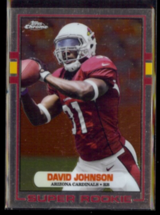 DAVID JOHNSON 2015 Topps Chrome Super Rookie #89-DJO.  CARDS