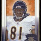 MICHAEL HAYNES 2003 Donruss Gridiron Kings Rookie #137.  BEARS