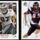 BRENT CELEK 2013 Topps Magic #210 + 2010 UD SP Authentic #13.  EAGLES / BEARCATS