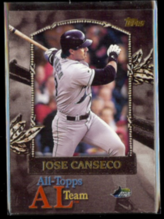 JOSE CANSECO 2000 Topps (All Topps Team) Insert #AT20.  RAYS