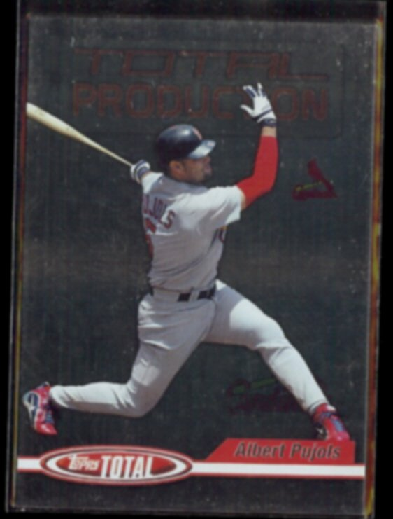 ALBERT PUJOLS 2004 Topps (Total Production) Insert #TP2.  CARDS