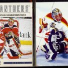 JOHN VANBIESBROUCK 2012 Panini Classics #106 + 1997 Pinnacle #37.  PANTHERS