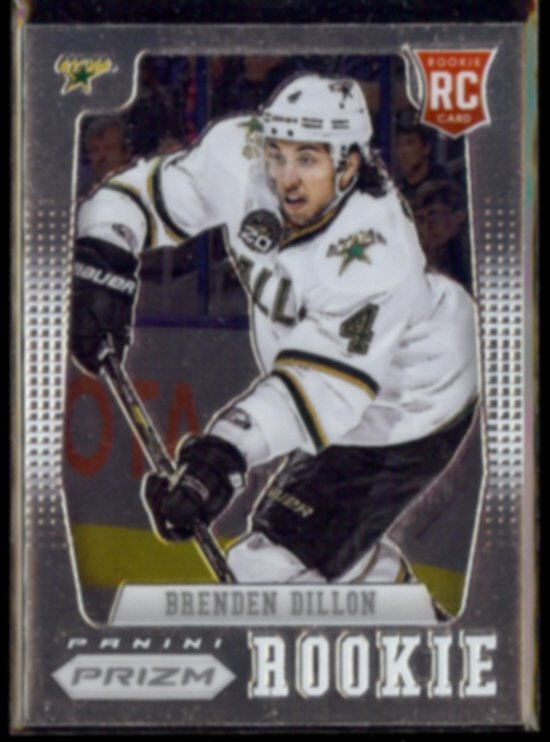 BRENDEN DILLON 2012 Panini Prism Rookie #72.  STARS